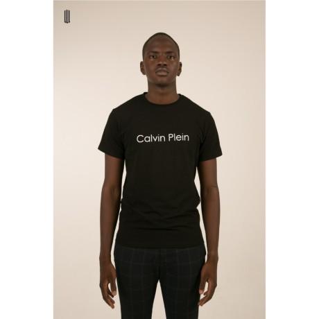CALVIN PLEIN BLACK TEE MAN