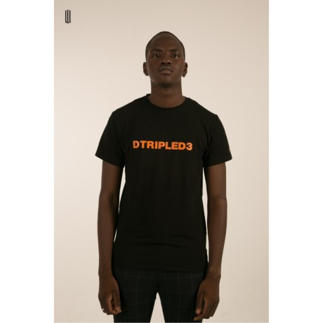 DTRIPLED3 BLACK TEE MAN